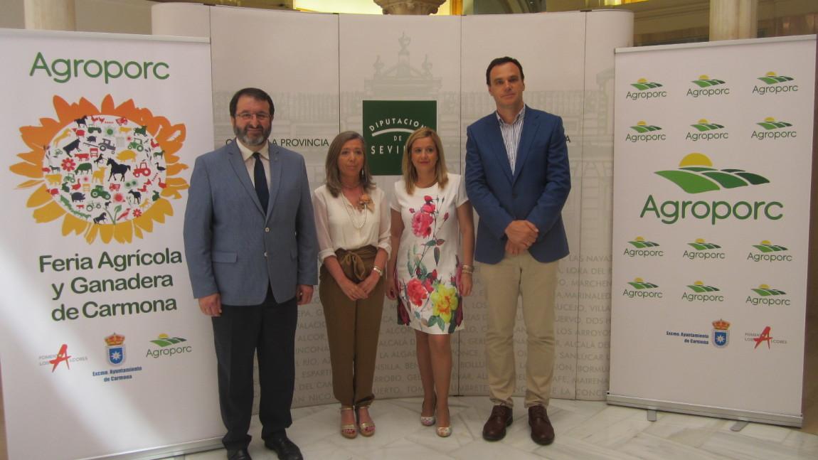 Agroporc se consolida como la feria agrícola y ganadera de referencia en Andalucía